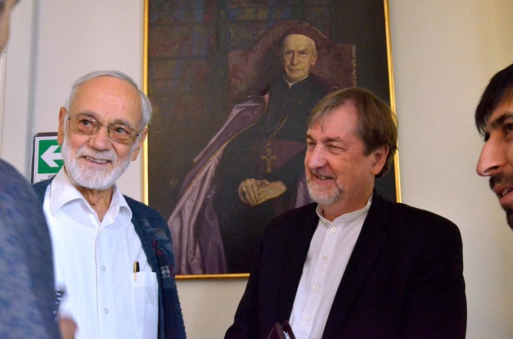 Audiencia De Cardenal Ezzati Con Foro Cristiano Global
