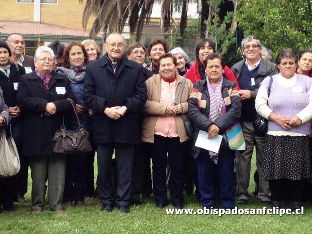 La alegría marcó encuentro diocesano Pastoral de Adultos Mayores en ...