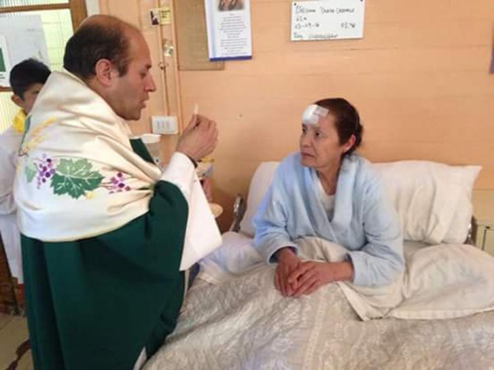 Din mica semana del enfermo en parroquias y hospitales de for Viveros en rancagua
