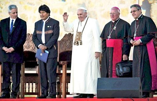 Arzobispo de La Paz para periódico Encuentro