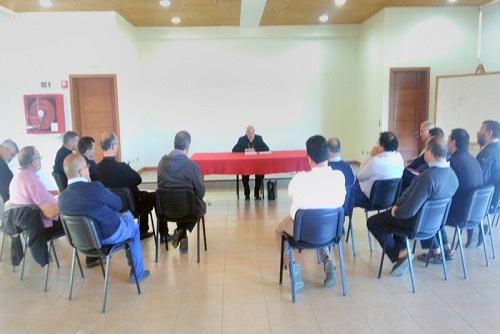 Zona Centro realizó reunión de presbiterio en Punta de Tralca