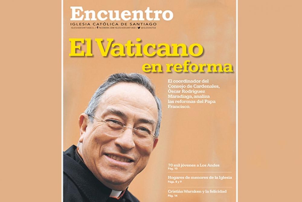Reforma Vaticana en Periódico Encuentro de noviembre