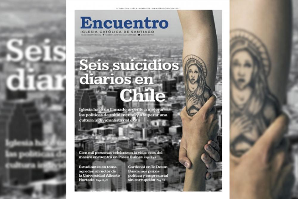 Periódico Encuentro octubre: Los suicidios en Chile