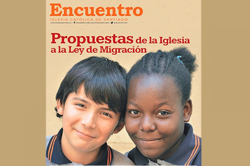 Periódico Encuentro aborda propuestas a la ley migratoria