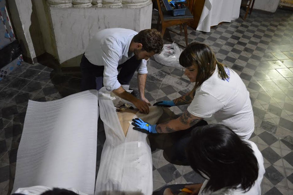 Cristo de Gratitud Nacional será restaurado por DUOC UC